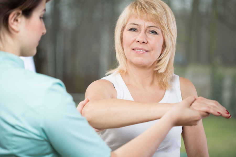Arm Therapy - car accident injury care