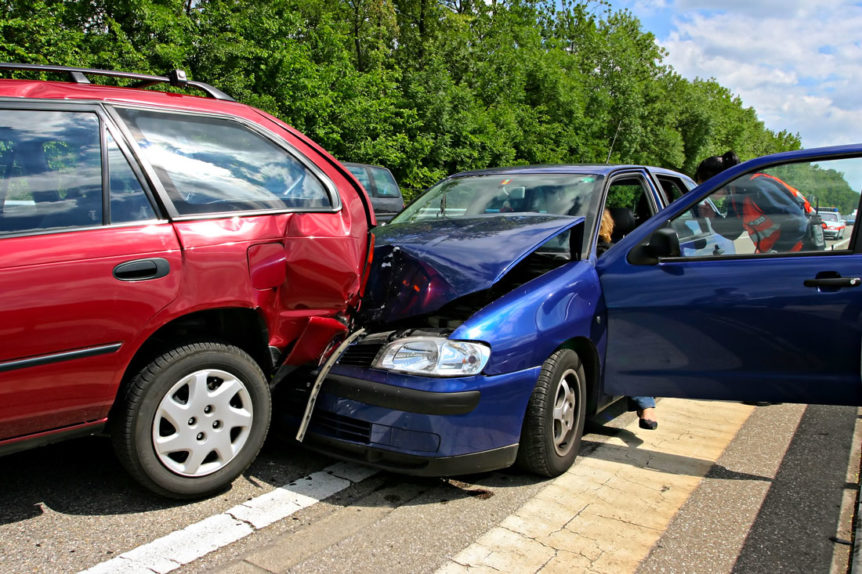 Rear End Collision - auto accident injury care